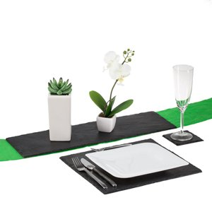 25_Platzset Tischset Schiefer Servierplatten 2 er Set